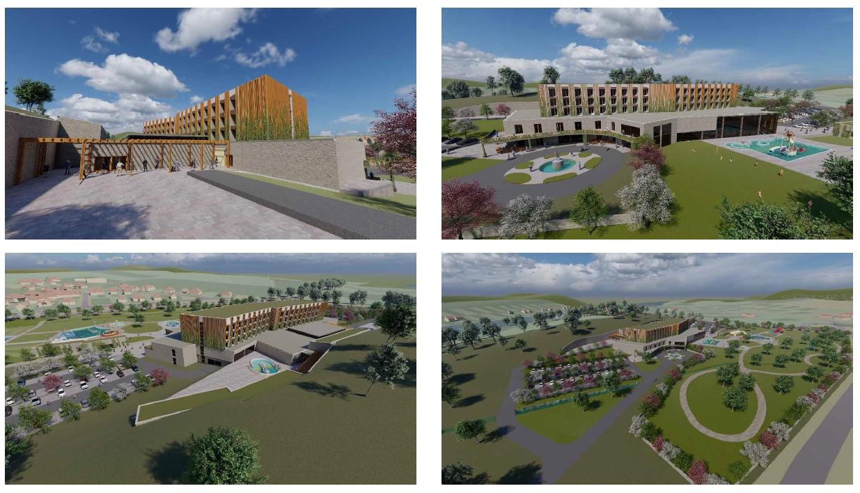 Etyeki felsőkategóriás resort szálloda és termál fürdő fejlesztés