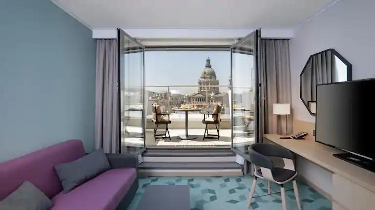 Budapesti Hilton Garden Inn üzleti tervének felülvizsgálata
